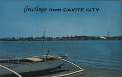 Greetings from Cavite City Postcard