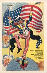 First National Postcard Exhibit Feb 18-23, 1976 - Dutch Inn