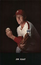 Jim Kaat - Philadelphia Phillies Pitcher 1976 Postcard