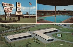 Friendship Inn Landmark Motor Lodge Postcard