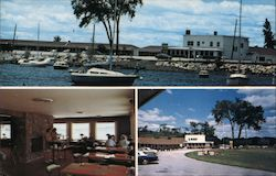 Sand Bar Motel Postcard