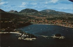 October at Seal Harbor Postcard