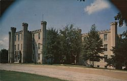Wesleyan Hall, Florence State College - In the Muscle Shoals District Postcard