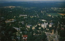 Aerial View Florence State College Postcard