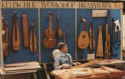 Kelischek Workshop for Historical Instruments Postcard