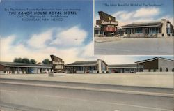 The Ranch House Royal Motel Postcard