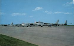 Flight Line Postcard