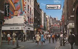 Carnaby Street, City of Westminster Postcard