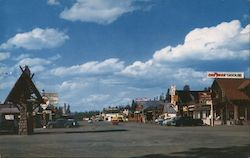 Travel Center - West Yellowstone Postcard