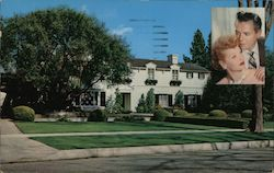 Residence of Desi Arnez and Lucille Ball Postcard
