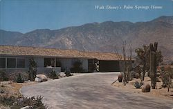 Walt Disney's Palm Springs Home Postcard