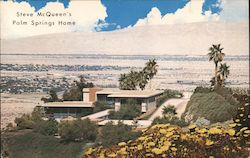 Steve McQueen's Palm Springs Home Postcard