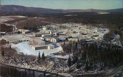 Aerial View - University of Alaska at Fairbanks Postcard