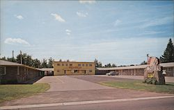 Indianhead Motel Postcard