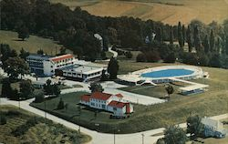 Mountain View Inn Postcard