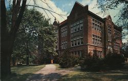 Thiel College, Roth Memorial Hall Postcard