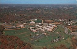 Aerial View of Butler Area Senior High School, Along State Route 68 Postcard