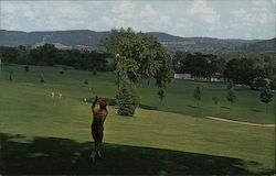 Towanda Country Club Postcard