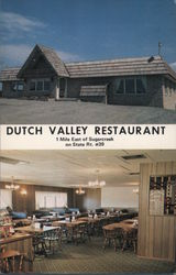 Dutch Valley Restaurant Postcard