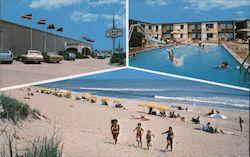 Cabana East Motel Postcard