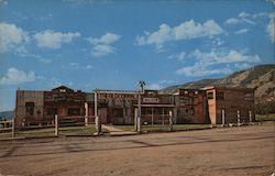 The Old Corral Motor Hotel - Frontier Village Postcard