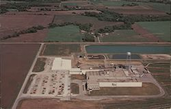 Farmland Pork Plant Postcard