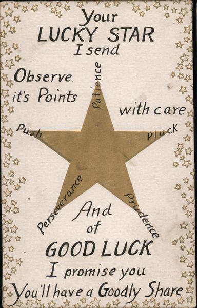 Your LUCKY STAR I send Greetings