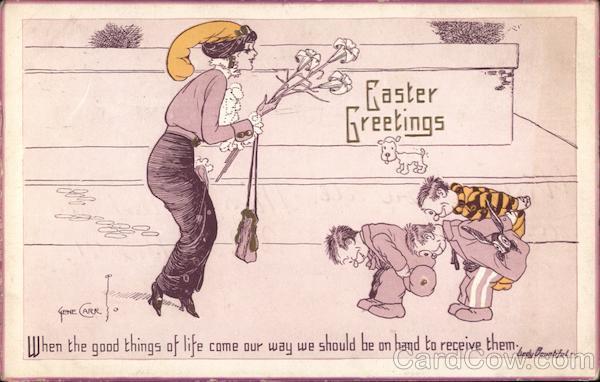 Easter Greetings Gene Carr