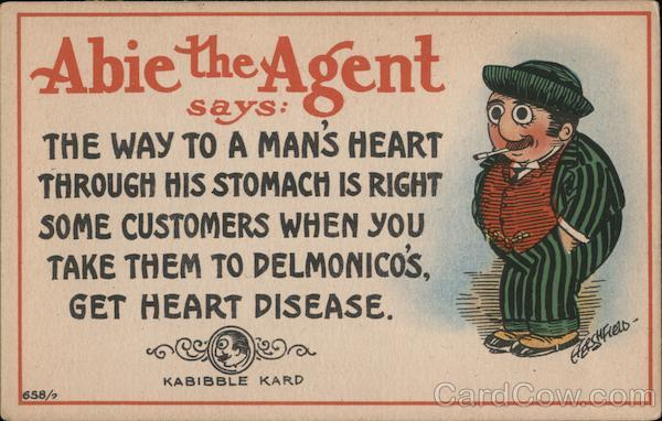 Heart Disease - Abie the Agent Comic, Funny