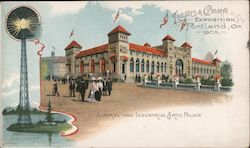 Lewis & Carr Exposition - Portland, OR. 1905 Postcard