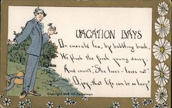 Vacation Days Postcard