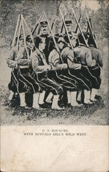 U.S. ZOUAVES. WITH BUFFALO BILL'S WILD WEST