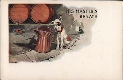 His master's breath Postcard