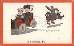 We're going some in Pittsburg, Pa. Postcard