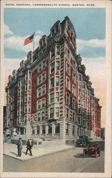Hotel Kenmore, Commonwealth Avenue Boston Massachusetts