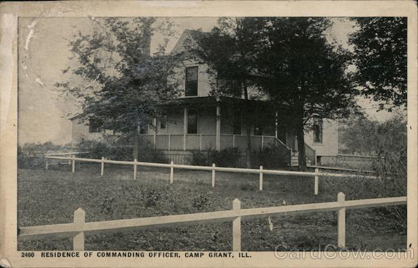 Residence of Commanding Officer Camp Grant Illinois