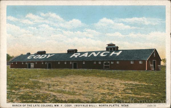 Ranch of the late Colonel Wm. F. Cody (Buffalo Bill) North Platte Nebraska