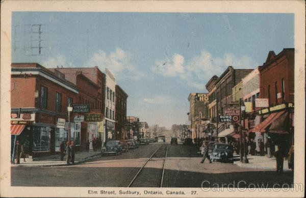 Elm Street Sudbury ON Canada Ontario