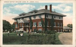 German Baptist Orphans' Home Postcard