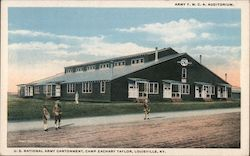 U.S. National Army Cantonment, Camp Zachary Taylor Postcard