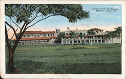 Country Club of Havana Postcard