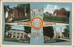 Bates College Postcard
