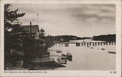 New Meadows Inn, New Meadows River Postcard