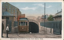 East Boston entrance to tunnel
