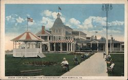 Ocean View Hotel, Ocean View Summer Resort Postcard