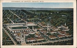 University of Detroit Postcard