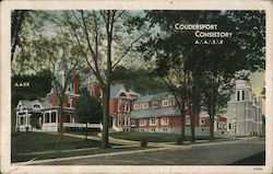 Coudersport Consistory, A.A.S.R. Postcard