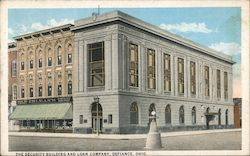 The Security Building and Loan Company Postcard