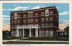 The George Wythe Hotel Postcard