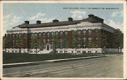 New Millard Hall, University of Minnesota Postcard